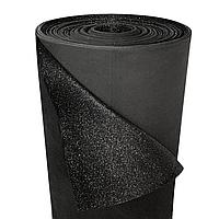 Фоамиран 2мм глиттерный, 1,0 м 1915 чорний, фото 1