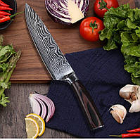 Нож шеф-повара 8 дюймов Santoku