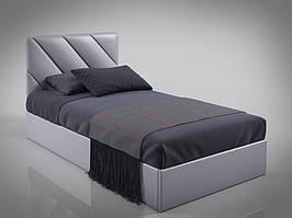 """Односпальне ліжко """"Шерридан міні"""", виробник """"Sentenzo"""""""