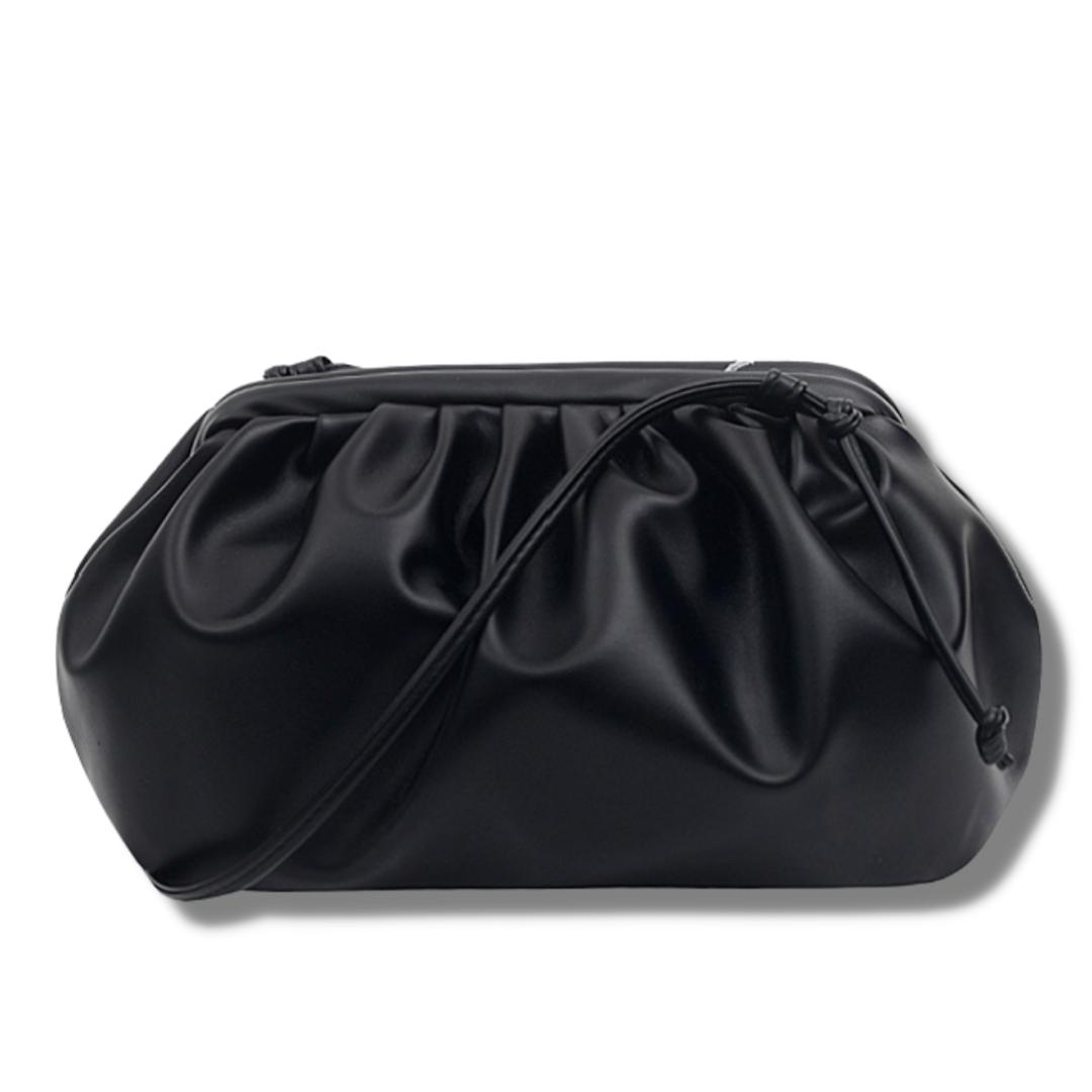 Сумка Pouch, клатч Bottega черный, женская сумка тренд 2021 СС-3651-10