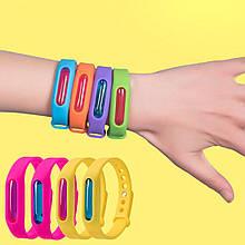 Силіконовий браслет для дорослих і дітей від комарів і мошок з капсулою WING WING BALL