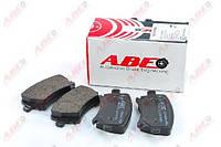 Гальмівні колодки задні без датчика (105.3х55.9х17.1mm) VW Caddy III 04- C2W021ABE ABE (Польща)