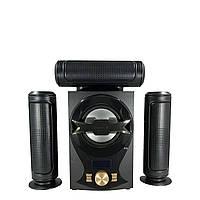 Музыкальные колонки 3.1. Домашний центр ERЛ ЕЛR, 60ВТ. USB/SD/AUX/Bluetooth/FM-радио (603).