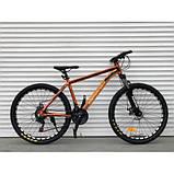 Велосипед TopRider 680 29 дюймів алюміній, фото 4