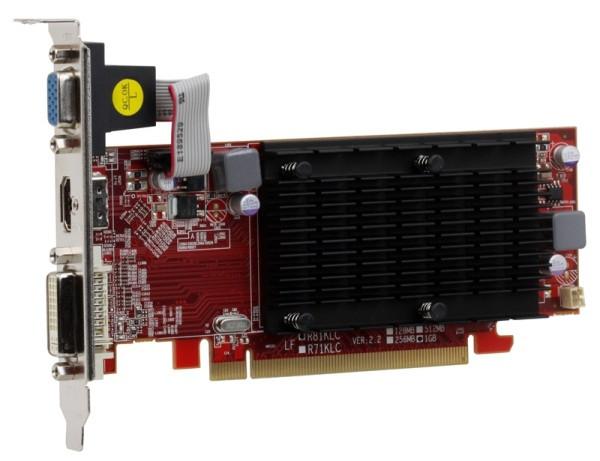 Видеокарта PowerColor HD5450 1 GB Go! Green (AX5450 1GBK3-SH), бу