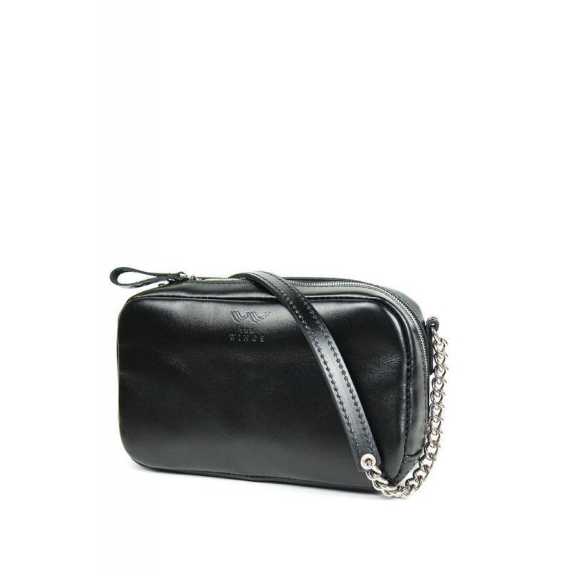Кожаная сумка Faith черная