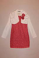 Платье подростковое с длинным рукавом, фото 1