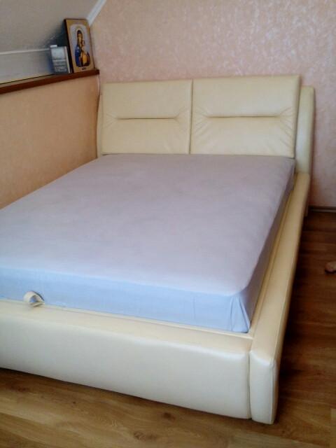 Двоспальне ліжко Віолетта 1