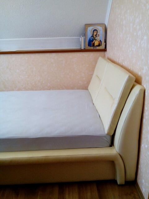 Двоспальне ліжко Віолетта -1