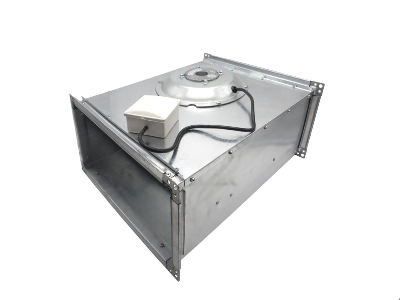 Канальный вентилятор для прямоугольных каналов ВКПВ 4D 600x350