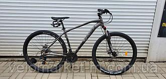 """Велосипед 29"""" Crosser Jazz 19"""" (Hidraulic LTWOO) сірий"""