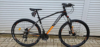 "Велосипед 29"" Crosser Jazz 19"" (Hidraulic LTWOO) чорно-помаранчевий"