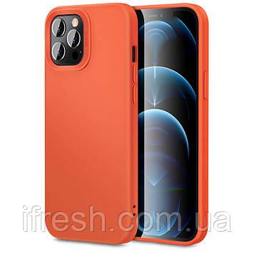Чехол ESR для iPhone 12 Pro Max Cloud Soft (Yippee), Coral Orange (3C01201360201)