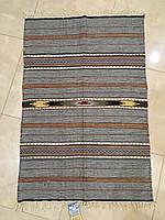 Домоткана доріжка килим ручної роботи шерстяна 100*70см