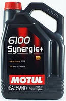 Моторное масло Motul 6100 SYNERGIE+ 5W-40 5L