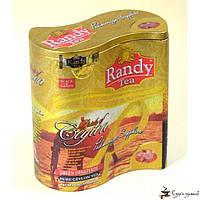 Черный и зеленый чай RANDY «Падмагара сапфир» OPA и PEKOE ж/б 100г