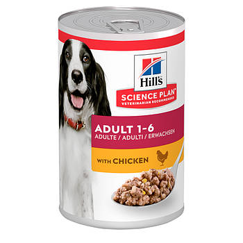 Консерва SP Adult для собак с курицей, 370 г