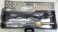 ZD-972H паяльник-выжигатель с набором насадок для выжигания, 21шт, 30-50Вт 220V, Zhongdi