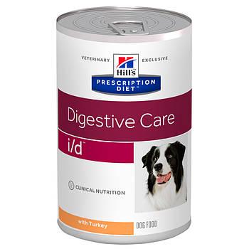 Консерва Hill's PD i/d для собак при заболеваниях ЖКТ с индейкой, 360 г