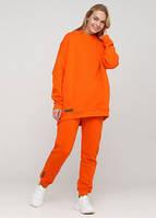 Брюки-джоггеры женские оранжевые Only Women спортивные