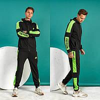 Трикотажный мужской двухцветный спортивный костюм. 2 цвета!