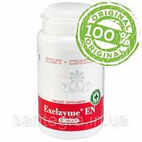 Exclzyme® EN (Сантегра - Santegra) Экселзайм - системные энзимы с серапептазой, 30000 EU, 60 таблеток.