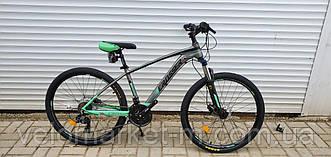 """Велосипед 26"""" Crosser X880 15.5"""" сіро-зелений"""