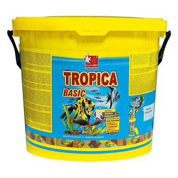 Корм для аквариумных рыб в хлопьях Dajana TROPICA BASIC 10 л/2 кг