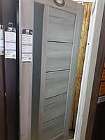 Міжкімнатні двері НОВИЙ СТИЛЬ зі склом Грета