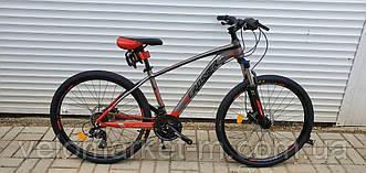 """Велосипед 26"""" Crosser X880 15.5"""" сіро-червоний"""