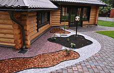 Бордюр Кантри пластиковый для сада Б-8000.2.11-ПП - Оливковый (бухта 80 метров)  (Экобордюр, бордюрная лента ), фото 3
