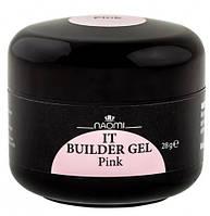 Конструирующий гель Naomi IT Builder Gel Pink 28 г