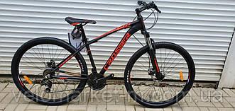 "Велосипед 29"" Crosser Scorpio 17"" чорно-червоний"