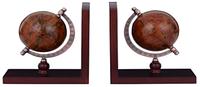 Подставка для книг (букенд) Глобус коричневый AG093013R