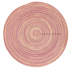 Сервировочный коврик 38 см, Маунт светло лиловый