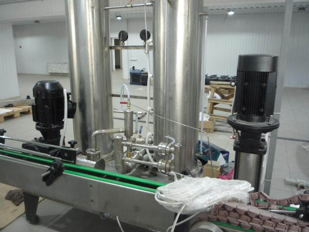 Чиллер для охлаждения питьевой воды перед сатурацией
