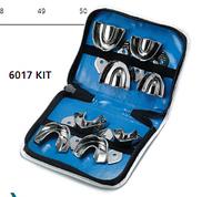 Набор ложек стальных неперфорированных с кромкой для детей из 8 шт. 6017/kit Medesy
