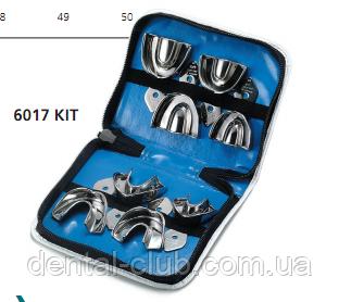Набор ложек стальных неперфорированных с кромкой для детей из 8 шт. 6017/kit Medesy - Dental-Club в Киеве