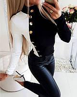 Женская стильная кофточка под горло, фото 1