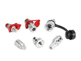 FEMALE QUICK COUPLER HIGH FLOW (MALE THREAD)