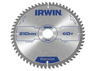 Диск пильный по алюминию 210х60х30, IRWIN