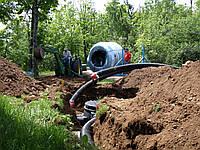 Монтаж наружных сетей водопровода,отопления, канализации,