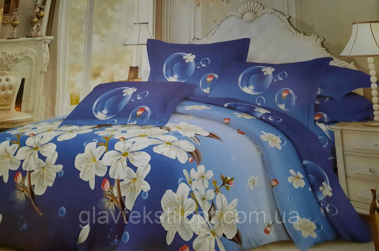 Комплект постельного белья Бязевый Семейный ТМ ГлавТекстиль
