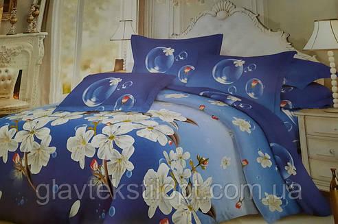 Комплект постельного белья Бязевый Семейный ТМ ГлавТекстиль, фото 2