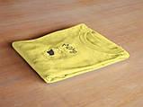 Футболка Lil Peep MOM желтая унисекс, фото 3