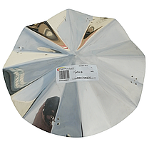 Грибок-термо ø220 мм из нержавеющей стали AISI 304 для дымохода вентиляции дымоходный Версия-Люкс, фото 2