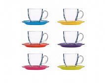 Сервиз Luminarc CARINE Rainbow 220X6 для чая (N4217)