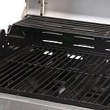 Газовий гриль Broil-master BBQ 21kw 6+1 Black Silver, фото 9