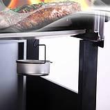 Газовий гриль Broil-master BBQ 21kw 6+1 Black Silver, фото 8