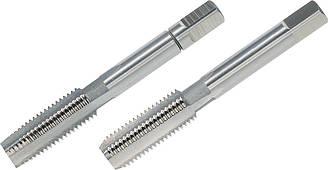 Мітчики ручні M12x1.25, DIN 2181, HSS-G, комплект з 2 штук